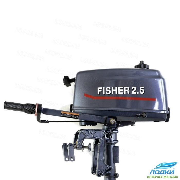 лодочный мотор fisher 2.5 ремонт