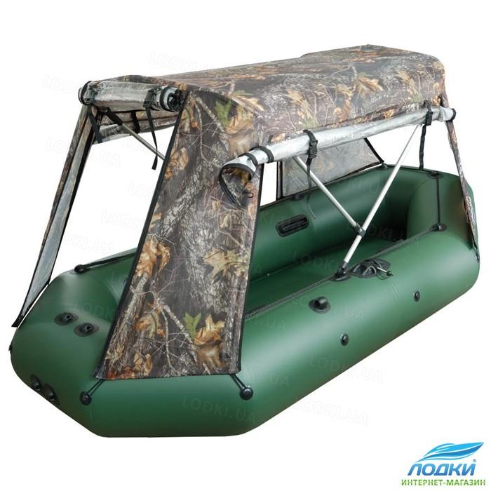 как сделать палатку для лодки
