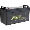 Электромотор Fisher 32 аккумулятор Gel 90Ah - 4