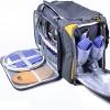 Набор посуды на 4 человека изотермическая сумка HB4-429 - 1