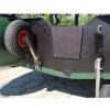 Транцевые колеса автомат для надувной лодки нержавейка - 10