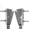 Транцевые колеса автомат для надувной лодки нержавейка - 2