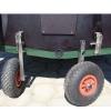 Транцевые колеса автомат для надувной лодки нержавейка - 9