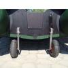 Транцевые колеса автомат для надувной лодки нержавейка - 8