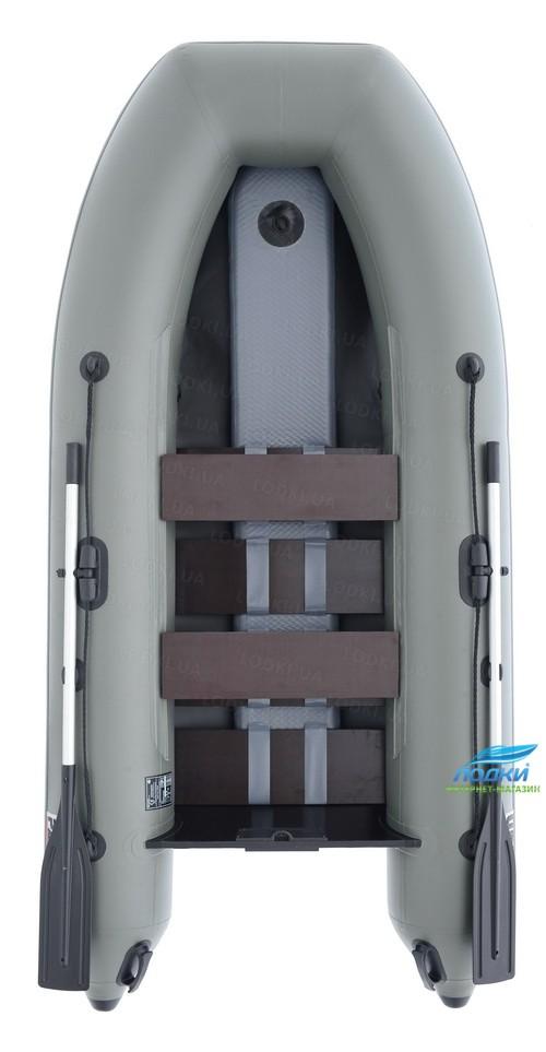 Надувная моторная лодка Parsun Stm340K New с гидролыжей