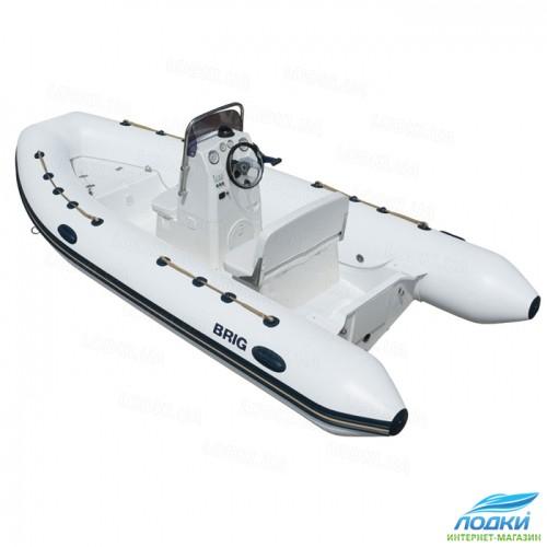 Надувная лодка Brig Falcon Riders F450DELUXE моторная RIB